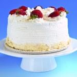 Strawberry meringue cake — Stock Photo #4569949