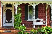 House porch — Stock Photo