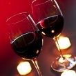 Foto Stock: Wineglasses