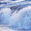 Wave in stormy ocean - Stock Photo