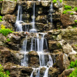 Cascading waterfall - Stock Photo