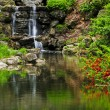 Royalty-Free Stock Photo: Cascading waterfall and pond
