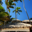 Restaurant on tropical beach — Stock Photo #4635536