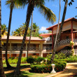 Foto de Stock  : Hotel at tropical resort