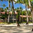 Hotel at tropical resort — Stock fotografie #4635637