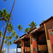Stock Photo: Tropical resort on oceshore