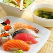 Sushi lunch - Stock Photo
