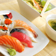 Sushi lunch — Stock Photo