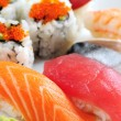 Sushi and california rolls — Stock Photo #4636247