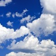 Blue sky with white clouds — Stock Photo #4636375