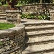 Natural stone landscaping — Stock Photo #4636563