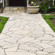 Foto Stock: Natural stone path
