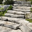 Natural stone landscaping — Stock Photo #4636567