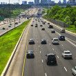 Busy highway — Stock Photo