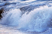 Wave in stormy ocean — Stock Photo