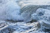 Waves in stormy ocean — Stock Photo