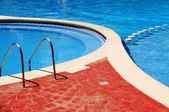 Outdoor swimming pool — Stock Photo