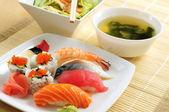 Almoço sushi — Fotografia Stock