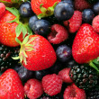 Assorted fresh berries — Foto Stock