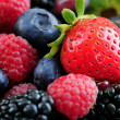 Assorted fresh berries — Stockfoto #4641712