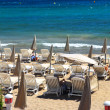 Beach in Cannes — Stock Photo #4641747