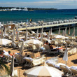 Beach in Cannes — Stock Photo