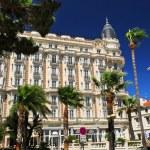 Croisette promenade in Cannes — Stock Photo
