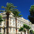 Croisette promenade in Cannes — Stock Photo #4641755