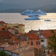 Cruise ships at St.Tropez — Stock Photo