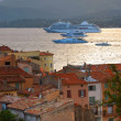 Cruise ships at St.Tropez — Stock Photo #4641820