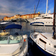 Boats at St.Tropez — Stock Photo #4641844