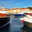 Boats at St.Tropez — Stock Photo #4641849