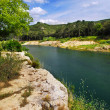 River Gard in southern France — Stock Photo #4641947