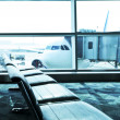 Stock Photo: Airport interior