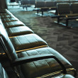Airport interior - Stock Photo