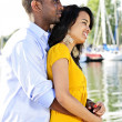 Romantic couple outdoors — Stock Photo #4718421
