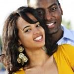 Retrato de pareja feliz — Foto de Stock