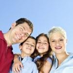 Happy family portrait — Stock Photo #4718603