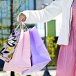Woman holding shopping bags — Stock Photo #4718666