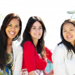 Group of young girl friends — Stock Photo #4718670