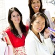 Young girlfriends shopping — Stock Photo #4718681