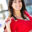 Young woman shopping — Stock Photo #4718695