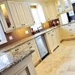 Stock Photo: Modern kitchen with tile floor