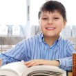 School boy studying — Stock Photo