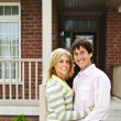 Happy couple at home — Stock Photo #4719067