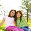 Young sisters — Stock Photo