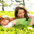 Young sisters - Stock Photo