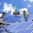 Solar panel installation — Stock fotografie #4719452