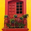 Window on Mexican house — Stock Photo #4719553