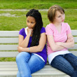 Bored teenage girls — Stock Photo #4719634